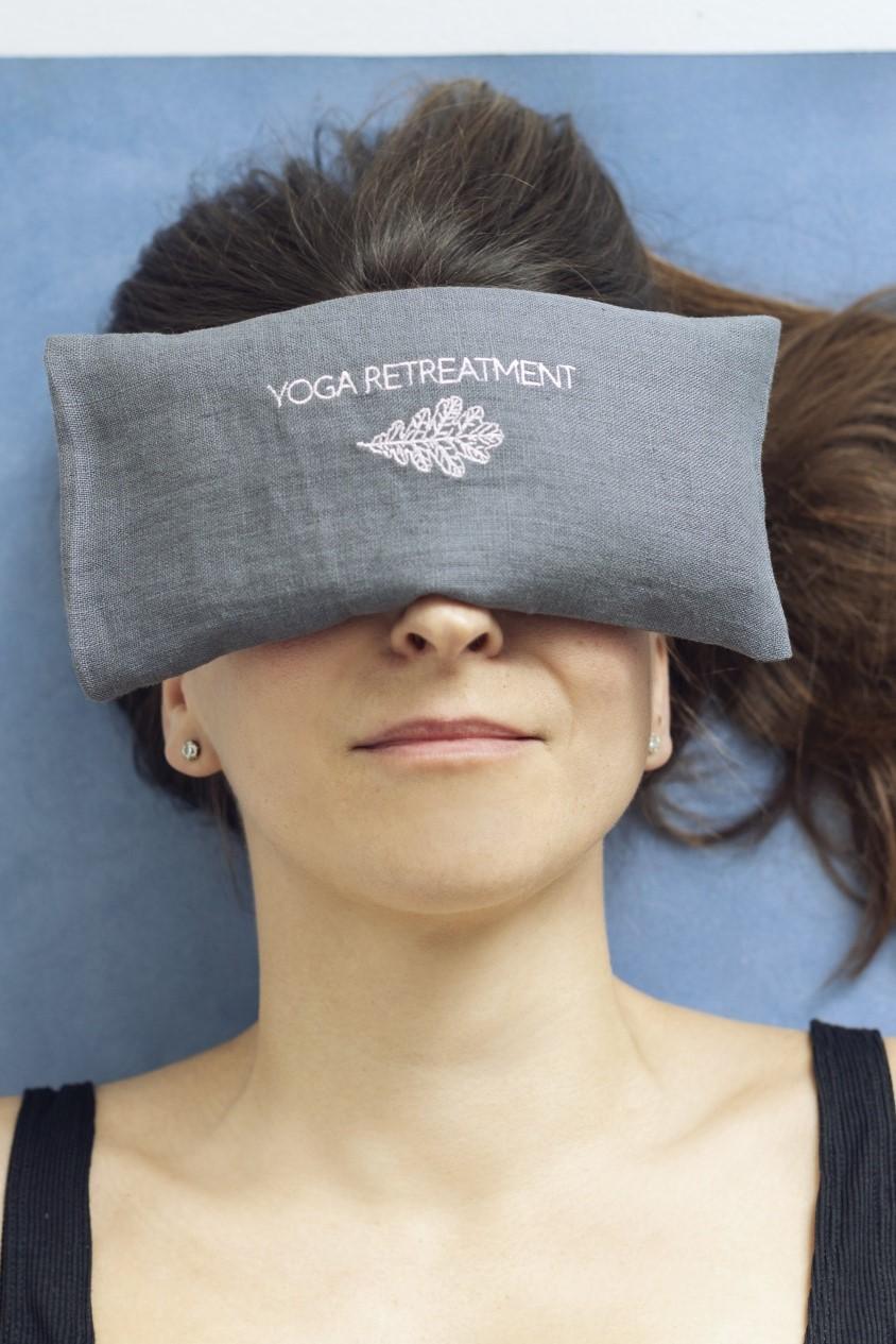 Lavender Eye Pillow Dusty Grey