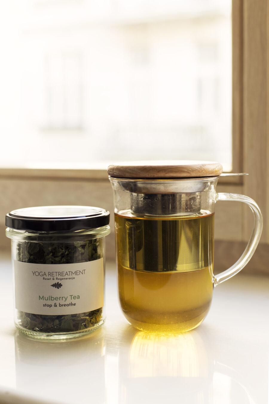 ZESTAW YOGA RETREATMENT LEMONGRASS TEA & MULBERRY TEA